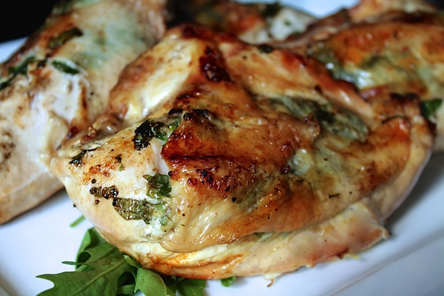 Summer Barbequed Herb Chicken