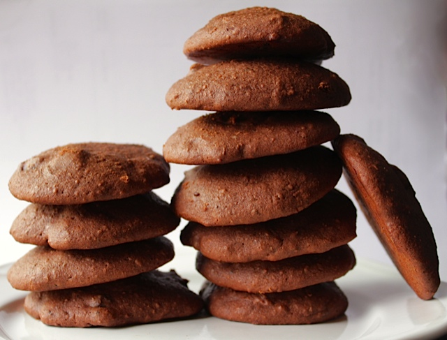 (Low Fat) Chewy Chocolate, Chocolate Chip Cookies