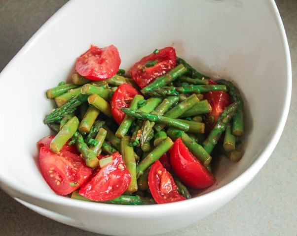 Asparagus and Tomato Salad