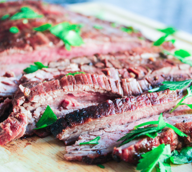 Marinated Flank Steak - Lisa G Cooks