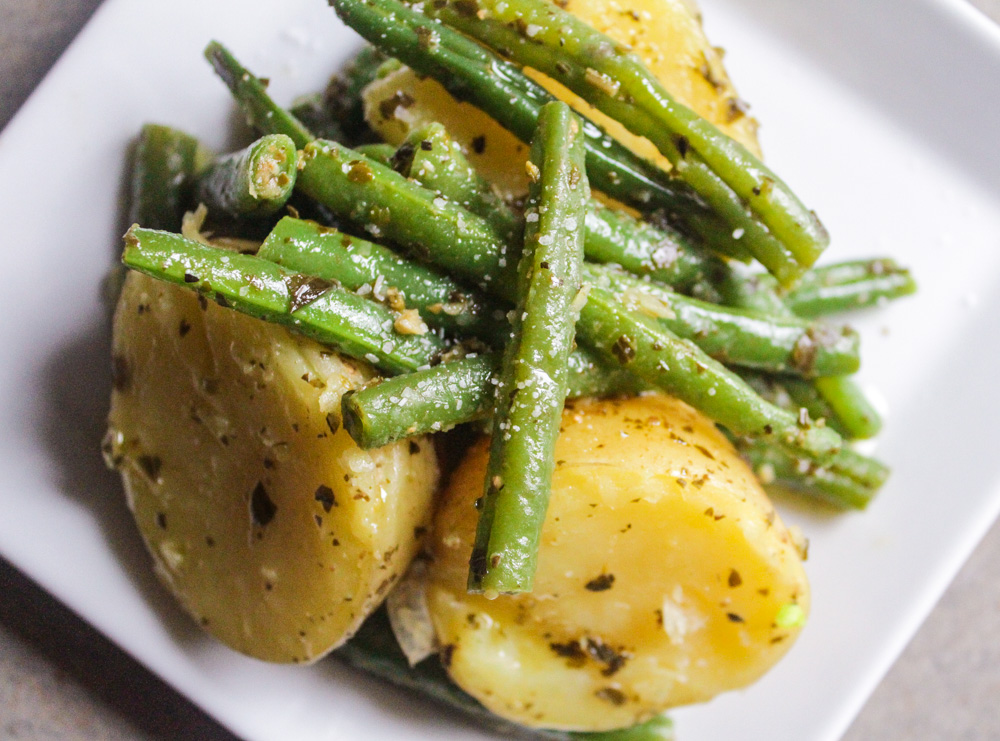 Potato and Green Bean Pesto Salad