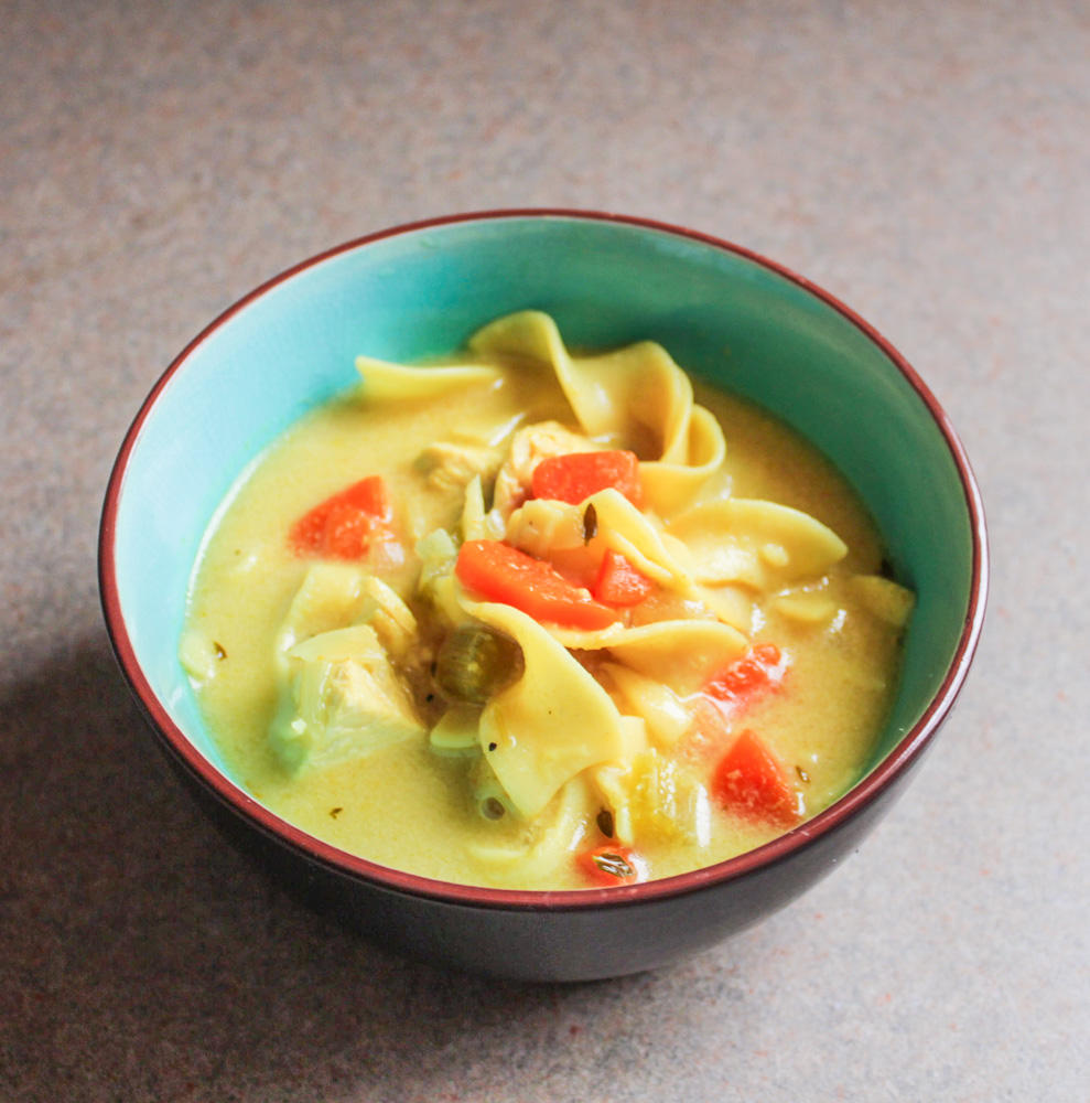 homestyle creamy chicken noodle soup