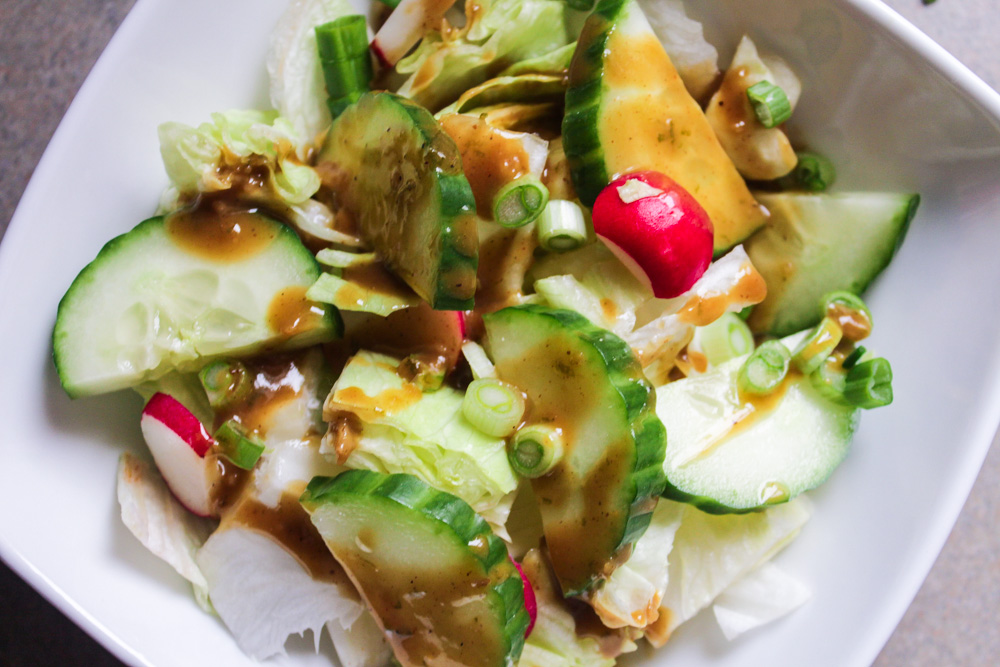 Honey Lime Peanut Vinaigrette