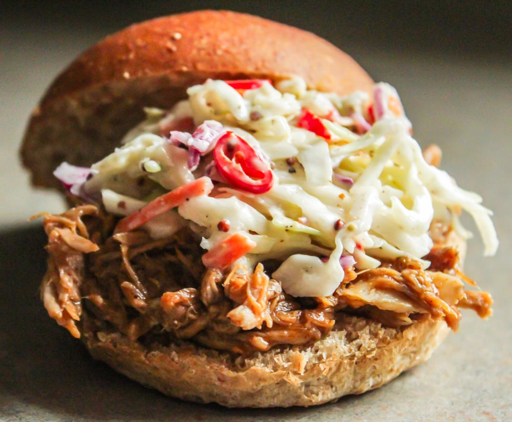 You are here: Home / Recipes / Spicy Pulled Pork Sandwiches