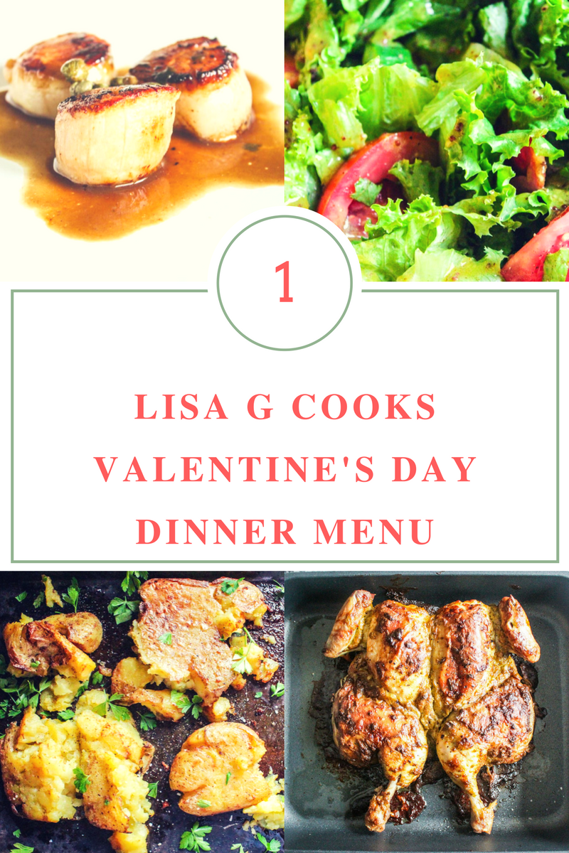Valentine's Day Dinner Menu – 1