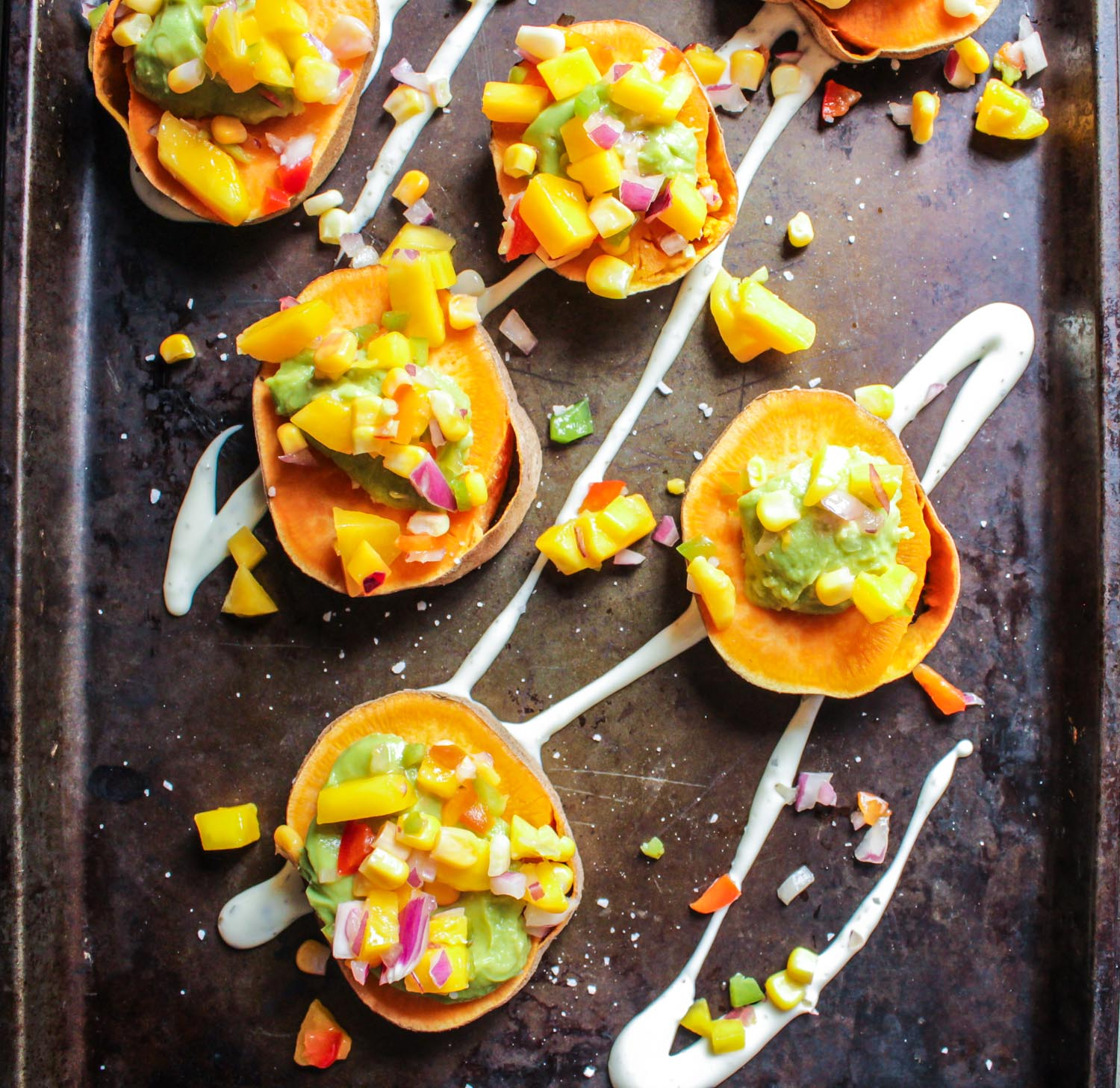 Sweet and Spicy Sweet Potato Bites