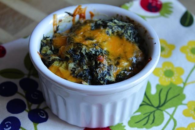 Four Cheese Spinach Dip Lisa G Cooks