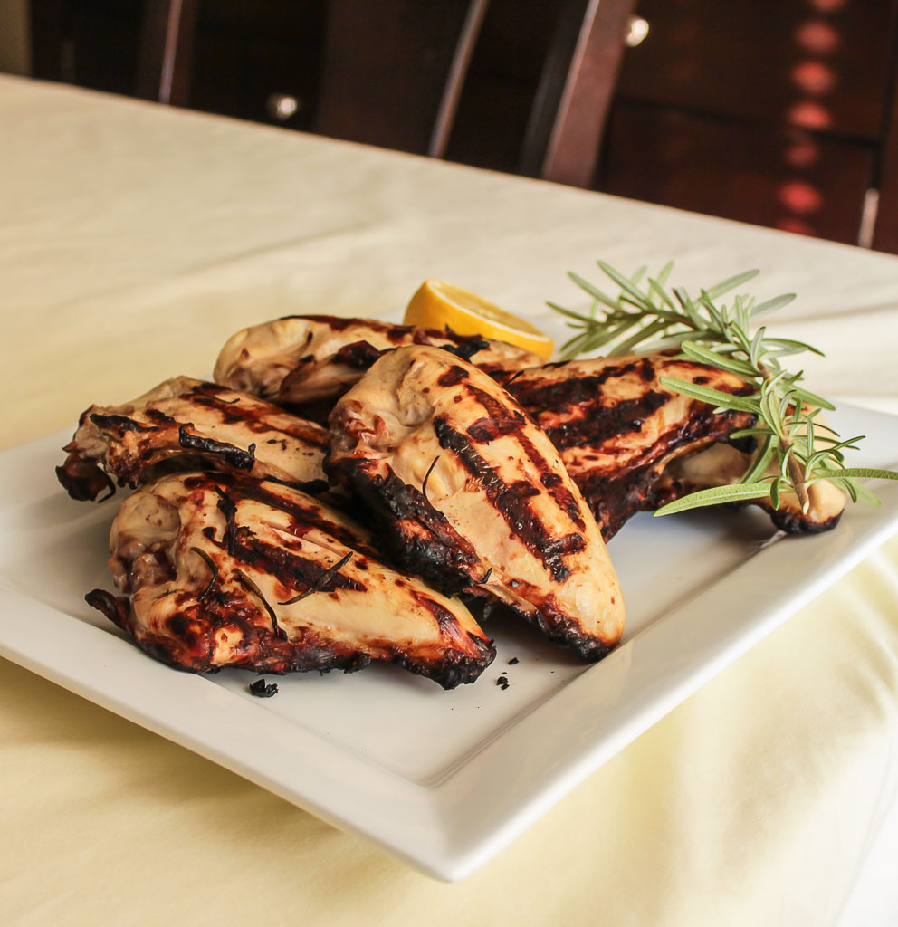 Rosemary And Lemon Brined Grilled Chicken Breasts